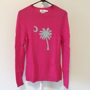 VINEYARD VINES Hot Pink Soft Pull On Sweater Sz S